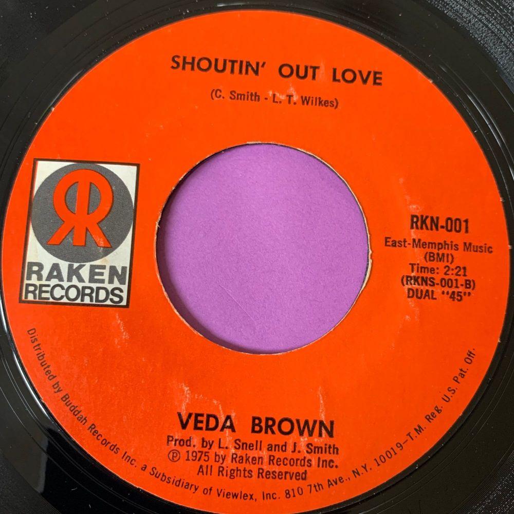Veda Brown-Shoutin' out love-Raken E+