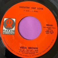 Veda Brown-Shoutin' out love-Raken E+