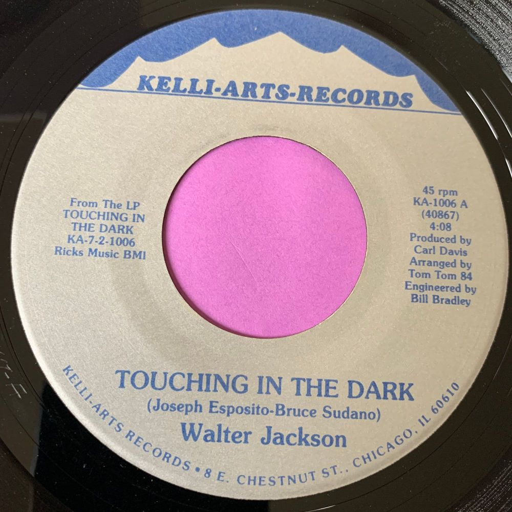 Walter Jackson-Touching in the dark-Kelli-arts E+