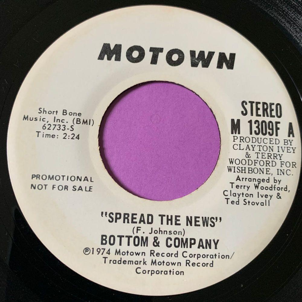 Bottom & Co-Spread the news-Motown WD E+