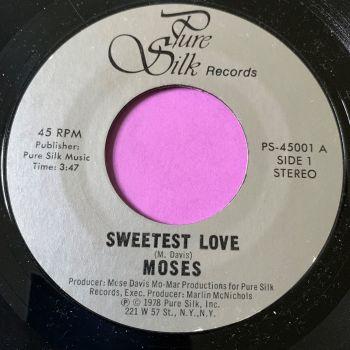 Moses-Sweetest love-Pure silk E+