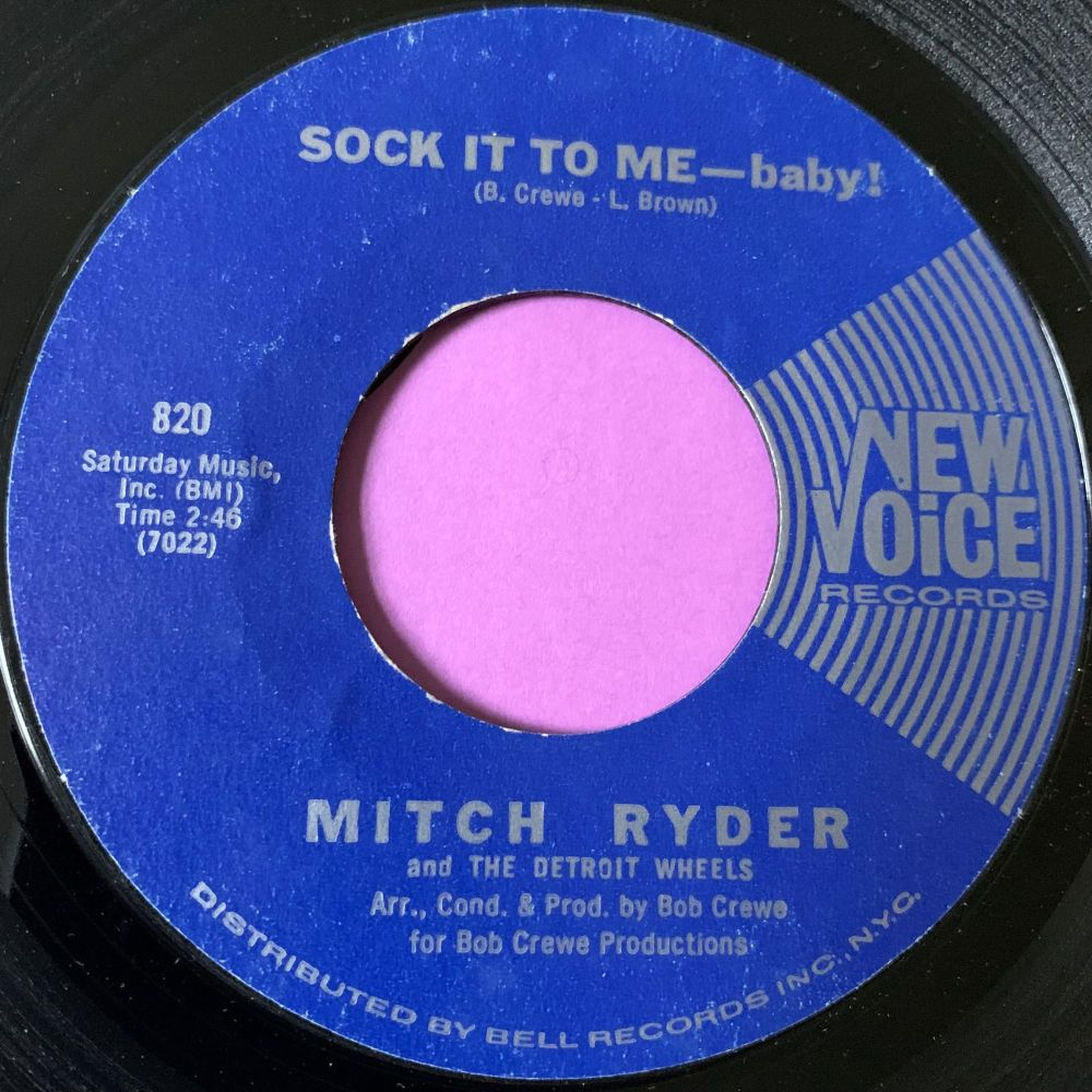 Mitch Ryder-Sock it to me-New Voice E+