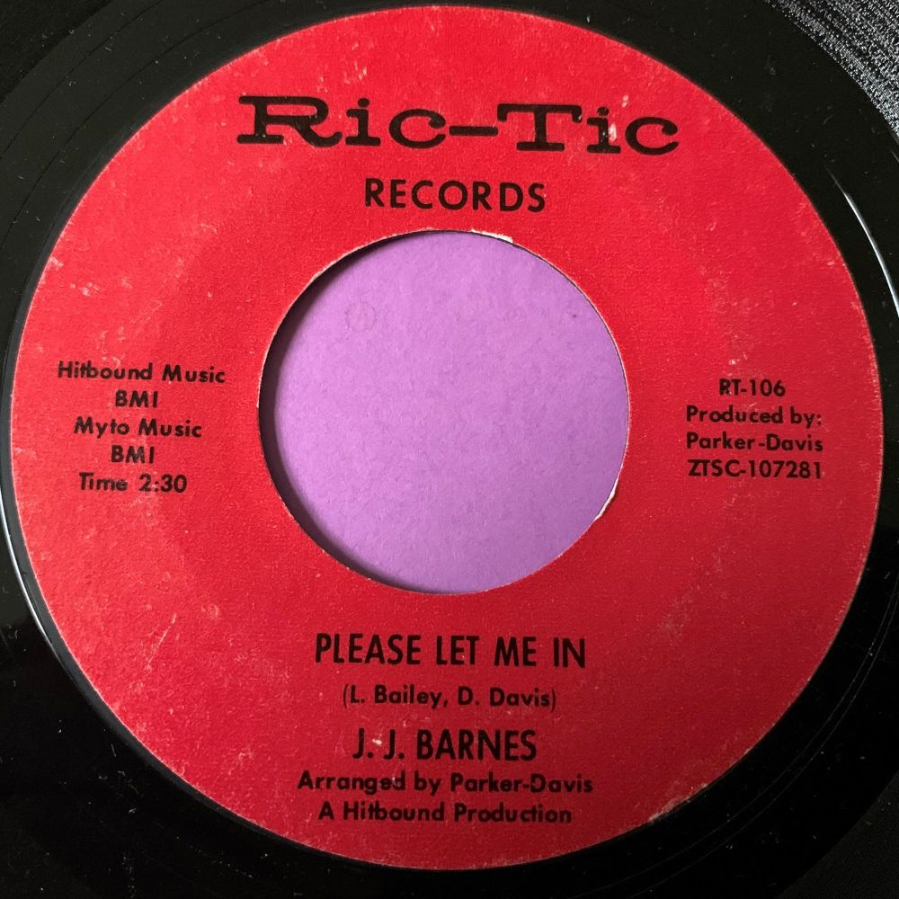 J.J Barnes-Please let me in-Ric-Tic E+