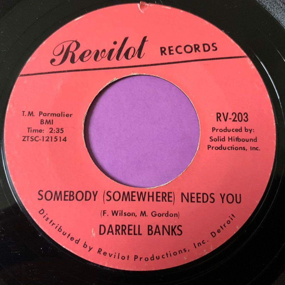 Darrell Banks-Somebody somewhere-Revilot E+