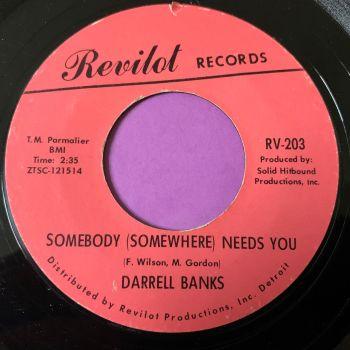 Darrell Banks-Somebody somewhere-Revilot E