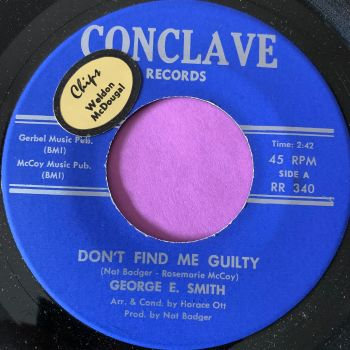George E Smith-Don't find me guilty-Conclave E+