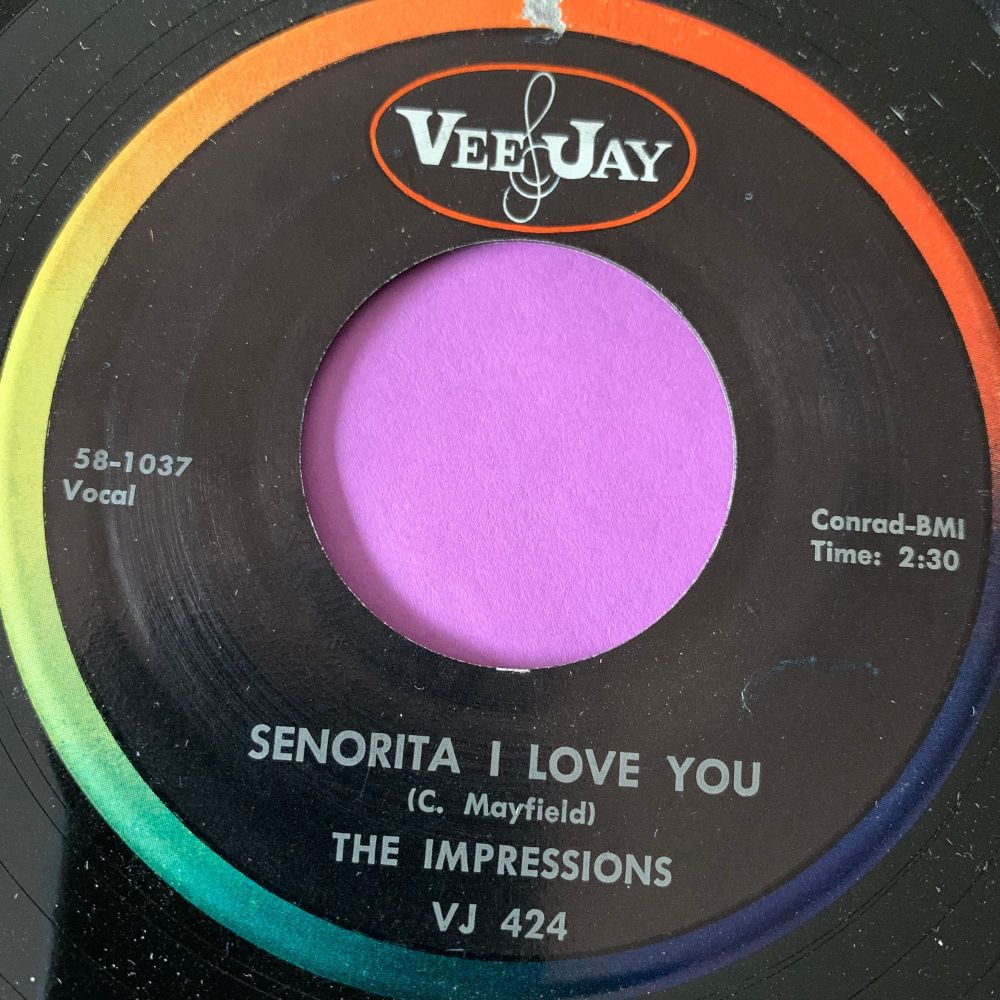 Impressions-Senorita I love you-VeeJay E+