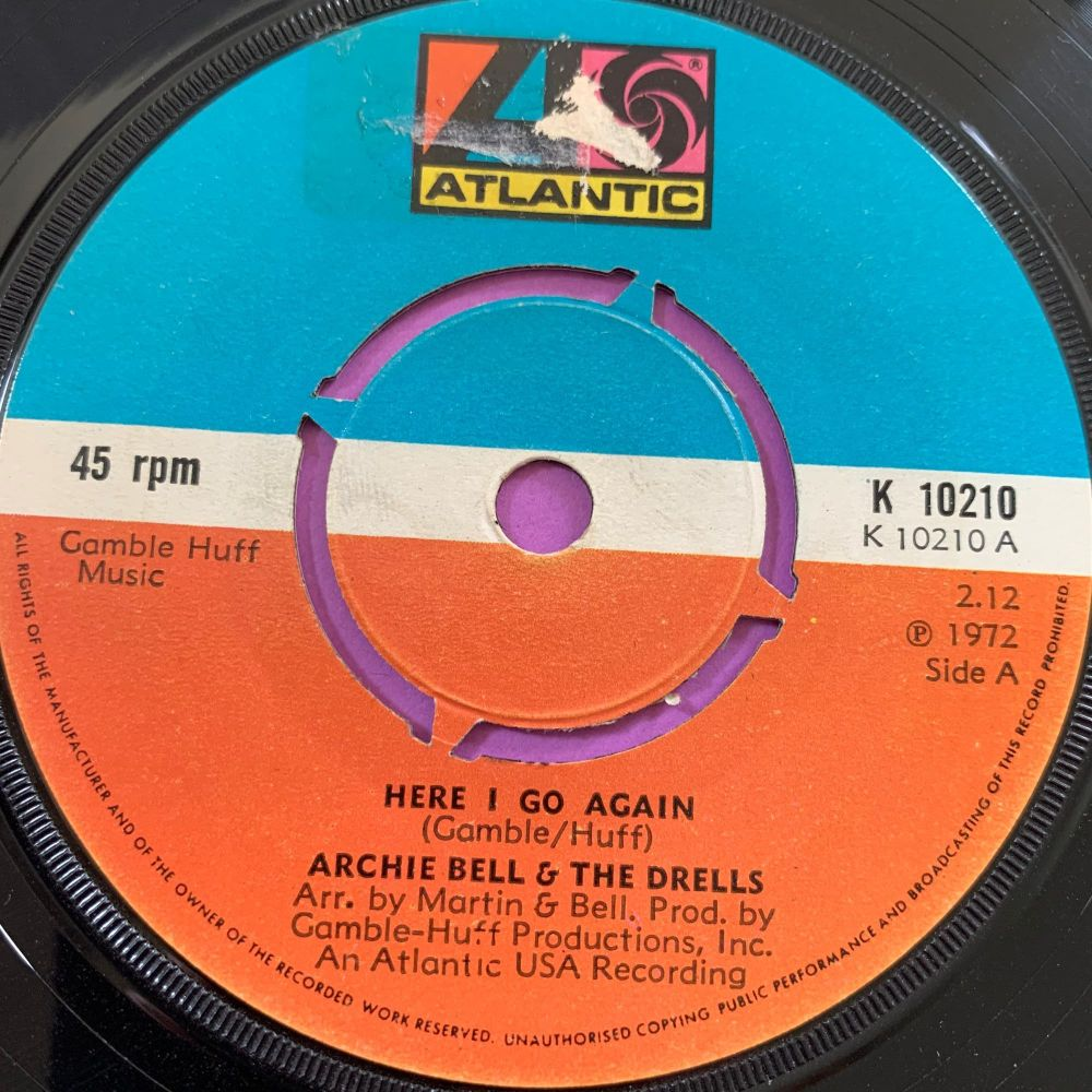 Archie Bell-Here I go again-UK Atlantic E+