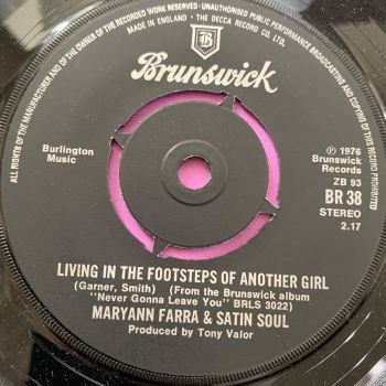 Maryann Farra-Living in the footsteps of another girl-UK Brunswick M-