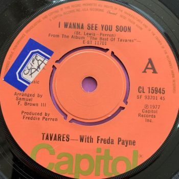 Tavares & Freda Payne-I wanna see you soon-UK Capitol stkr E+