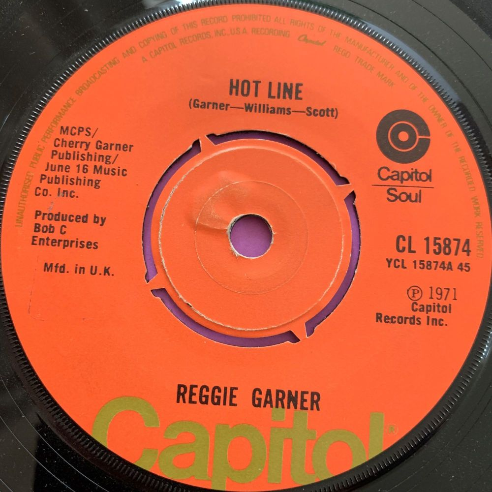 Reggie Garner-Hot Line-UK Capitol E+