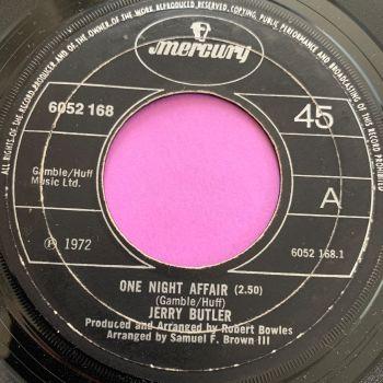 Jerry Butler-One night affair-UK Mercury noc E+