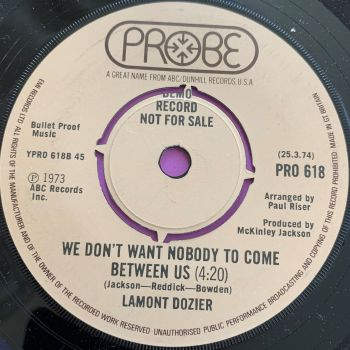 Lamont Dozier-We don't nobody to come between us-UK Probe Demo E+