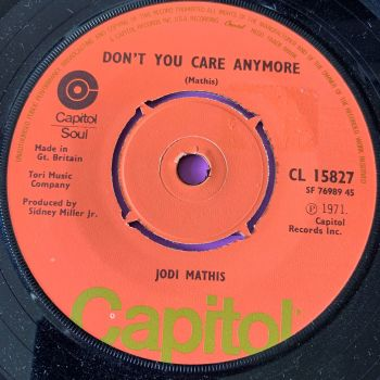 Jodi Mathis-Don't you care anymore-UK Capitol E+