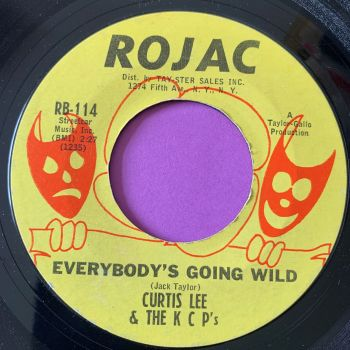 Curtis Lee-Everybody's going wild-Rojac vg+