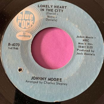 Johnny Moore-Lonely heart in the city-Blue rock E+