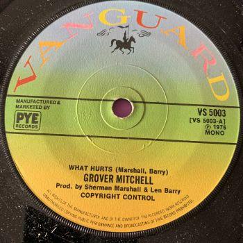 Grover Mitchell-What hurts-UK Vanguard M-