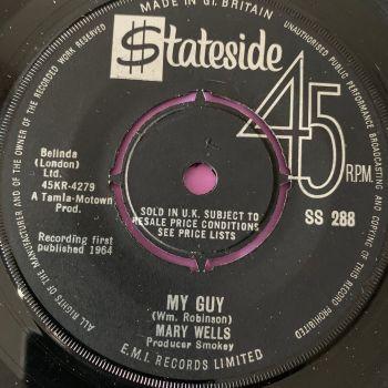 Mary Wells-My guy-UK Stateside E+