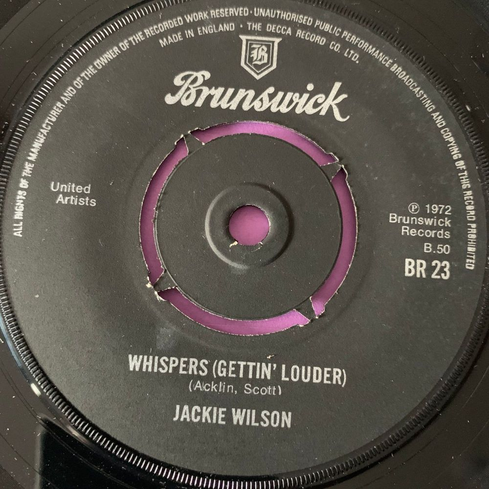 Jackie Wilson-Whispers-UK Brunswick E+