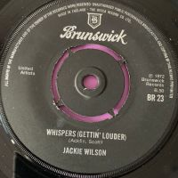 Jackie Wilson-Whispers-UK Brunswick E+
