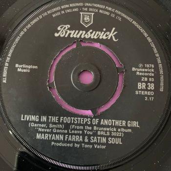 Maryann Farra-Living in the footsteps of another girl-UK Brunswick E+