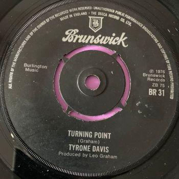 Tyrone Davis-Turning point-UK Brunswick E+