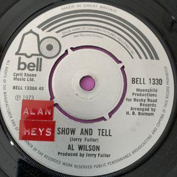 Al Wilson-Show and Tell-UK Bell stkr E+