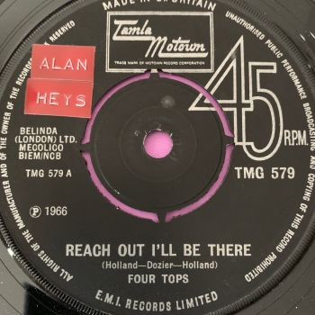 Four Tops-Reach out I'll be there-TMG 579 stkr E+