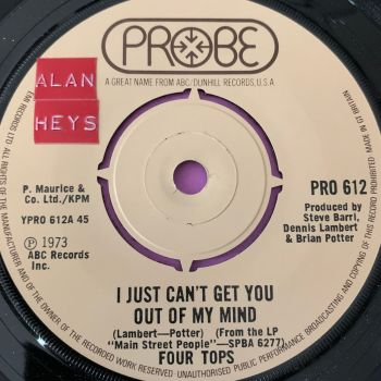 Four Tops-I just can't get you out of my mind-Probe stkr E+