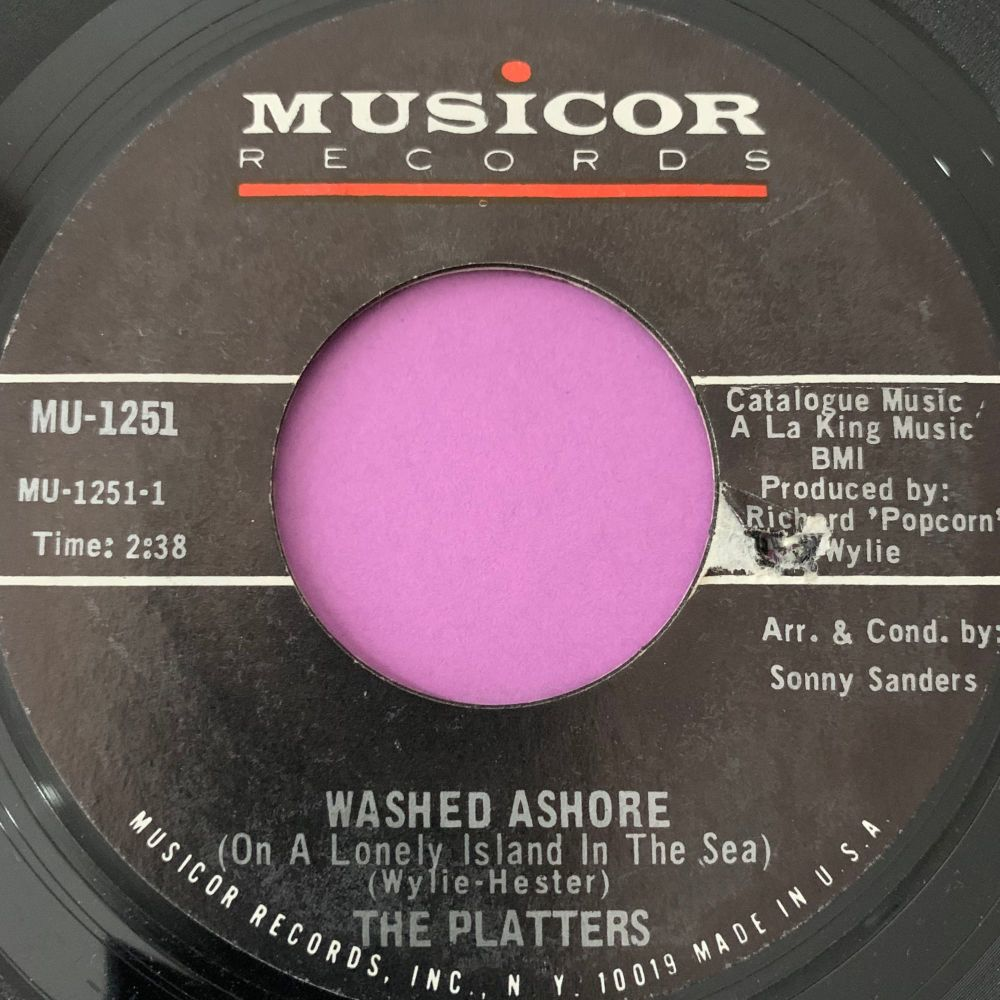 Platters-Washed ashore-Musicor E+