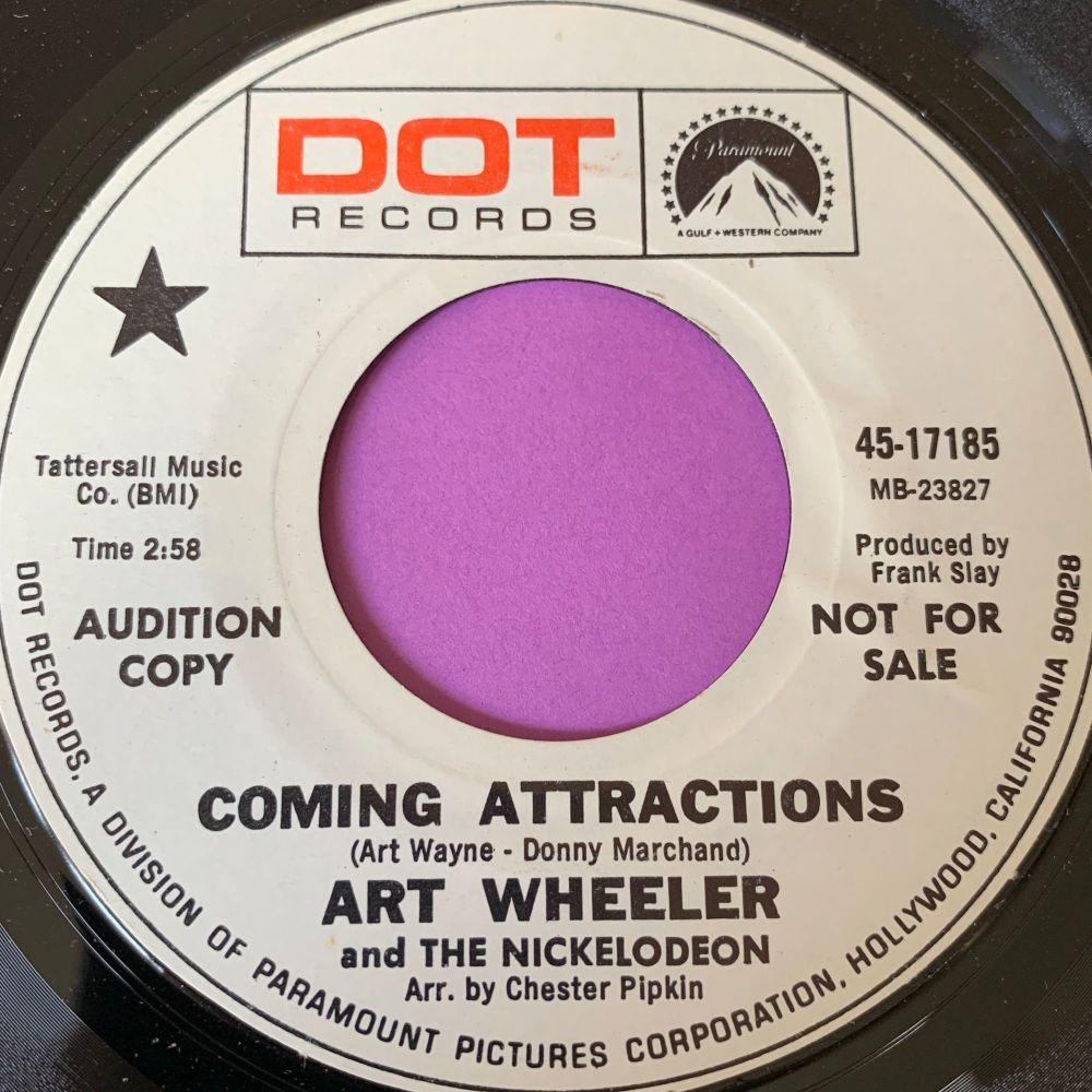 Art Wheeler-Coming attractions-Dot WD M-