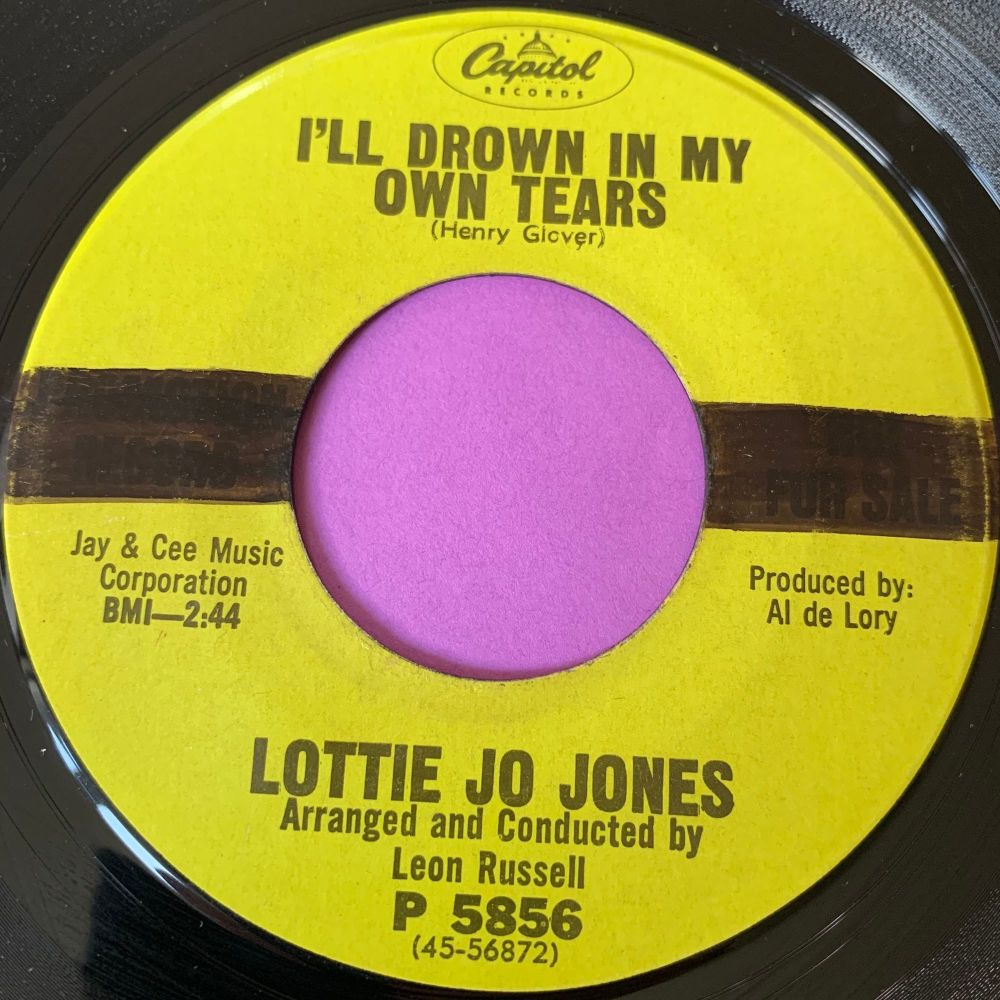 Lottie Jo Jones-I'll drown in my own tears-Capitol E