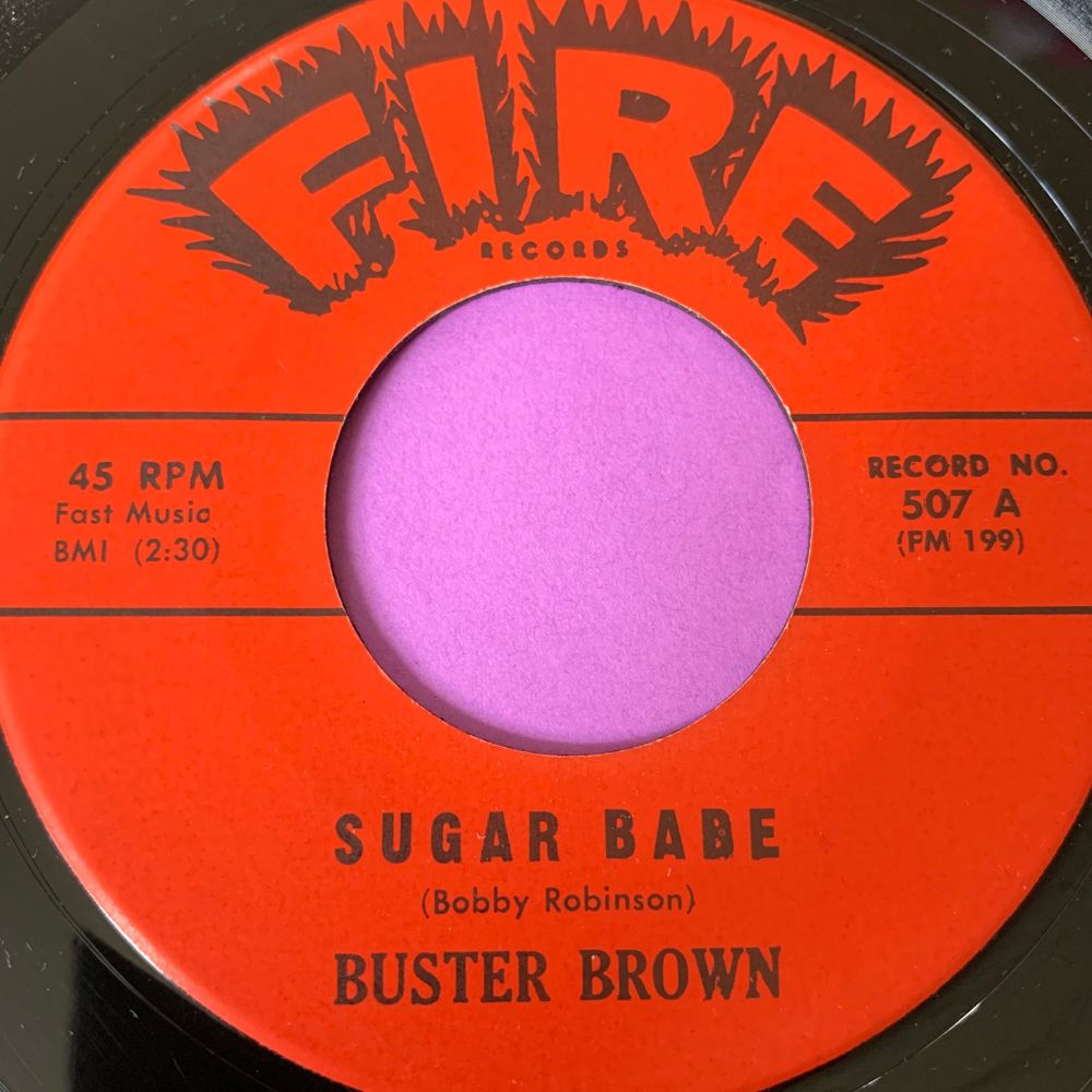 Buster Brown-Sugar Babe-Fire M-