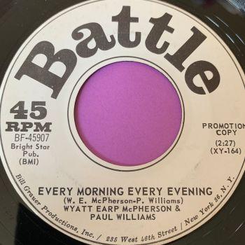 Wyatt Earp McPherson -Every morning, every evening-Battle WD E+