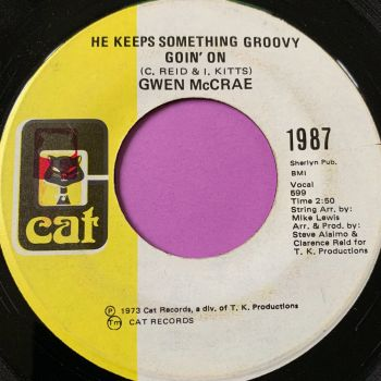 Gwen McCrae-He keeps something groovy goin' on-Cat E+