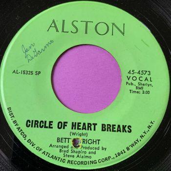 Betty Wright-Circle of heart breaks - Alston wol E
