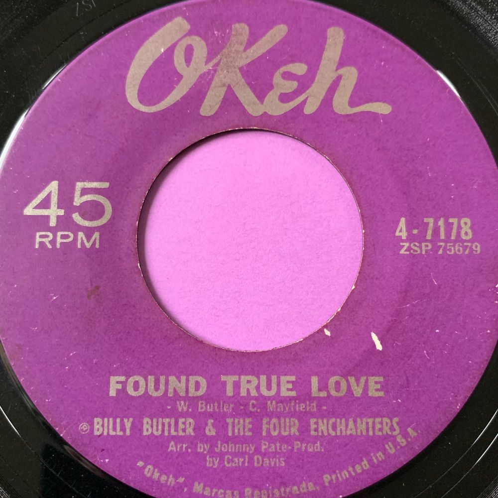 Billy Butler-Found true love-Okeh E