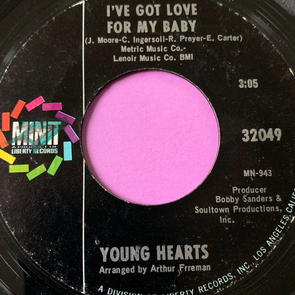 Young Hearts-I've got love for my baby-Minit E+