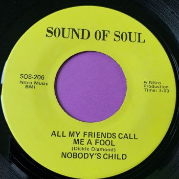 Nobody's Child-All my friends call me a fool-Sound of soul E+