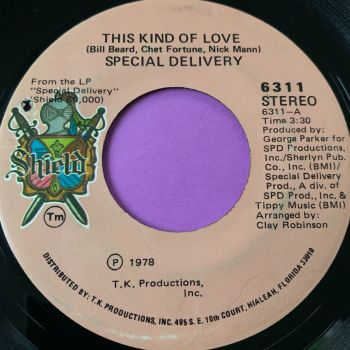 Special Delivery-This kind of love-Shield E
