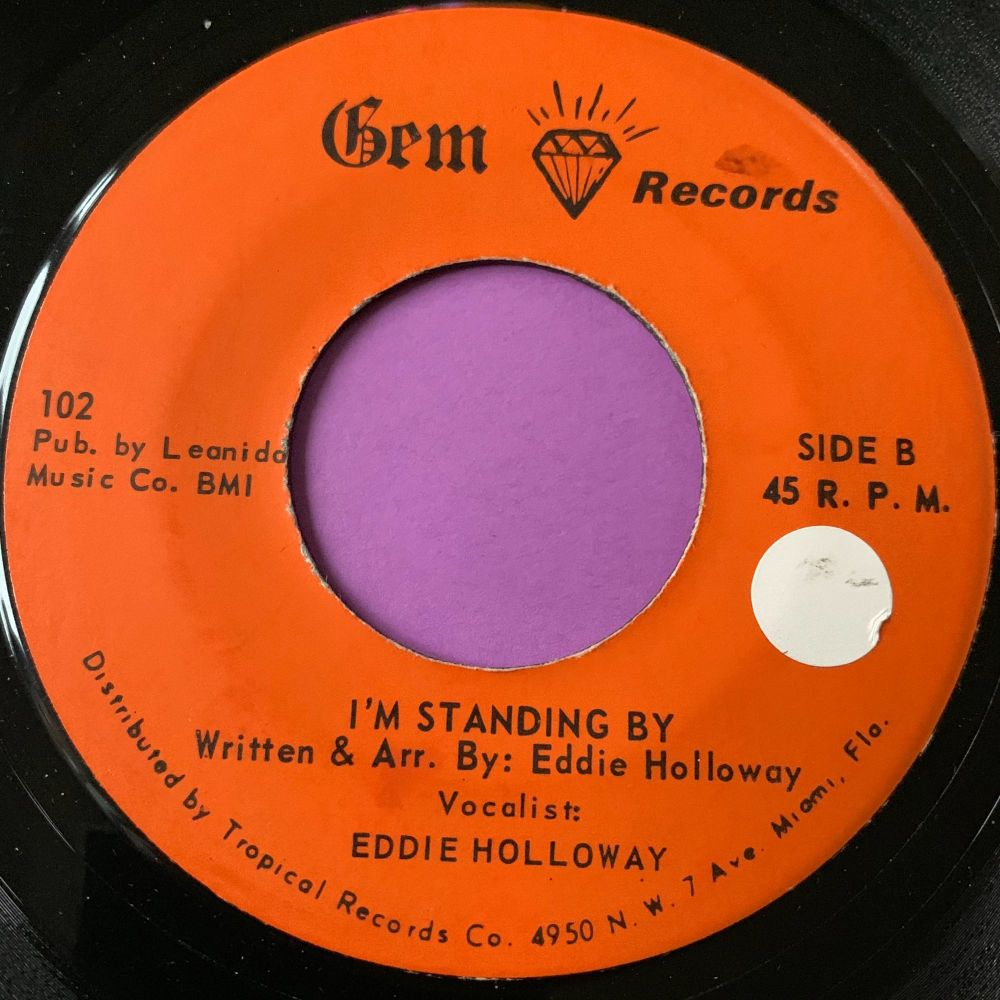 Eddie Holloway-I'm standing by-Gem stkr E+
