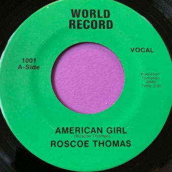 Roscoe Thomas-American girl-World M-
