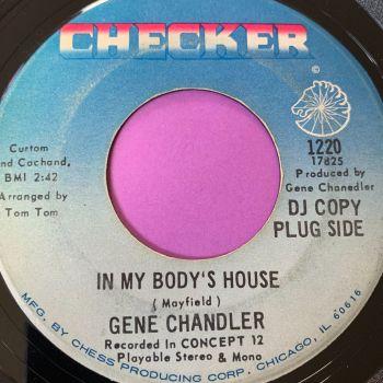 Gene Chandler- In my body's house-Checker E+