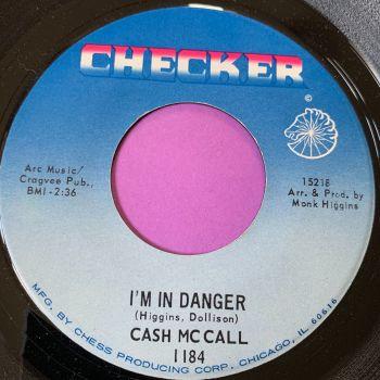 Cash McCall-I'm in danger-Checker E+