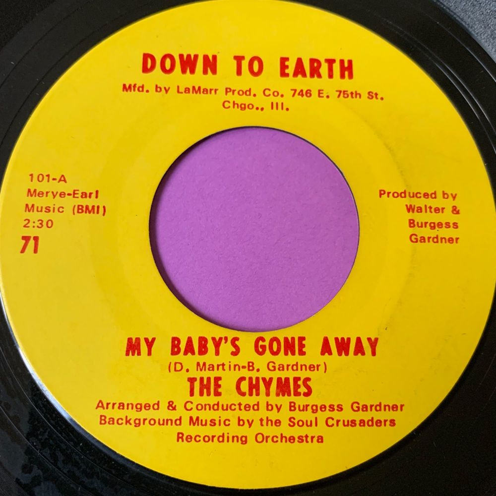 Chimes-My baby's gone away-Down to earth E+