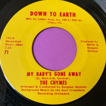 Chymes-My baby's gone away-Down to earth E+