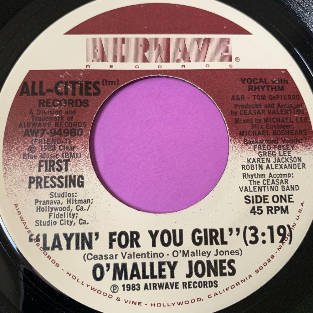 O'Malley Jones-Layin' for you girl-Airwave E+