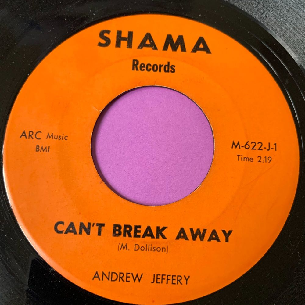 Andrew Jeffery-Can't break away-Shama E+