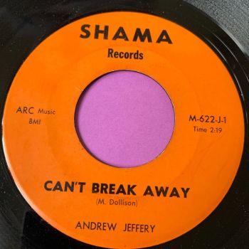 Andrew Jeffery-Can't break away-Shama E+