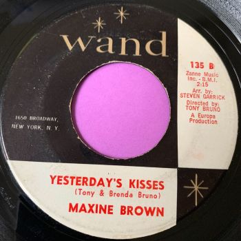 Maxine Brown-Yesterday's kisses-Wand E